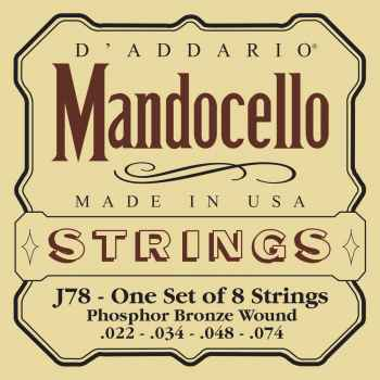 D´addario J78 para Mandocello